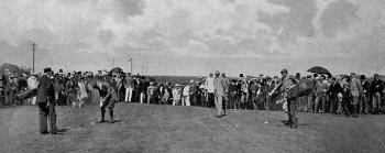 Old Photograph Golfers St Andrews Scotland